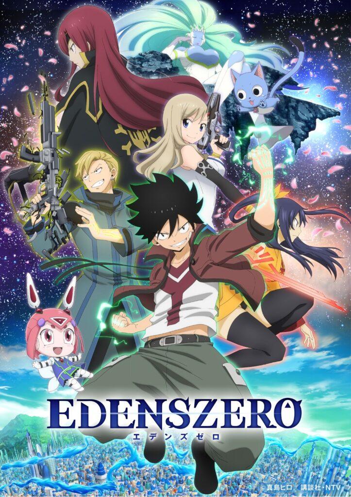 EDENS ZERO visual 723x1024 - Os 10 animes mais esperados pelos brasileiros na temporada de primavera, segundo Otakus Brasil