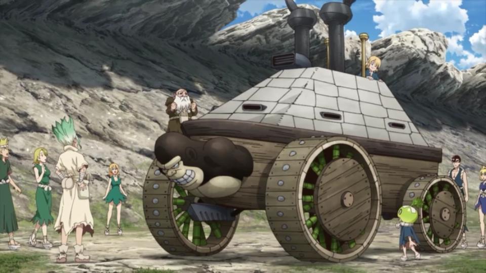 Screenshot 2021 02 12 10 19 421 - Como fazer um Tanque de Guerra Super Resistente com PAPEL!!!!! (Dr. Stone: Stone Wars - episódio 5)
