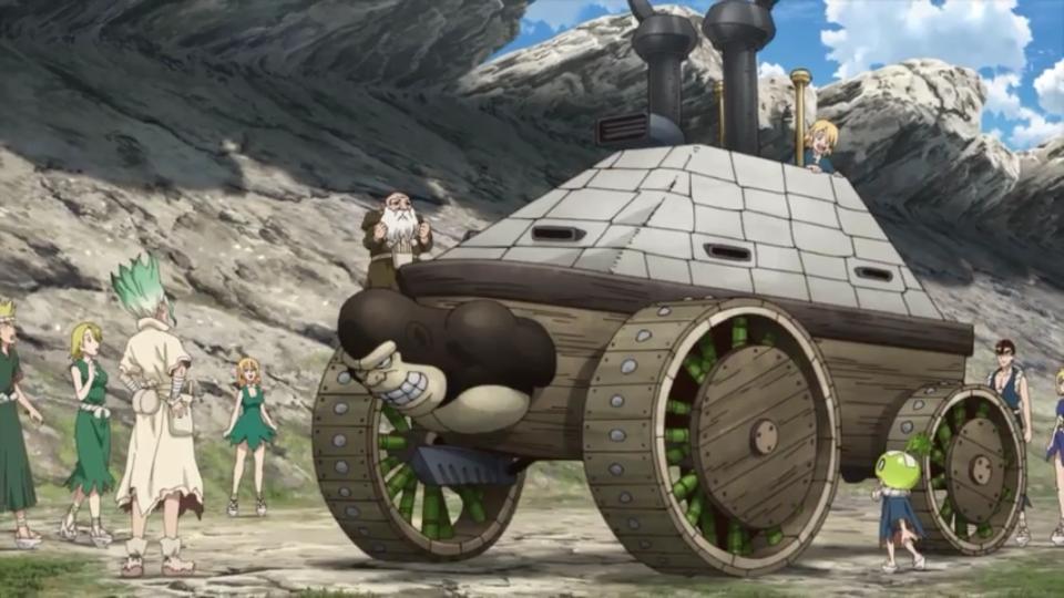Screenshot 2021 02 12 10 19 541 - Como fazer um Tanque de Guerra Super Resistente com PAPEL!!!!! (Dr. Stone: Stone Wars - episódio 5)