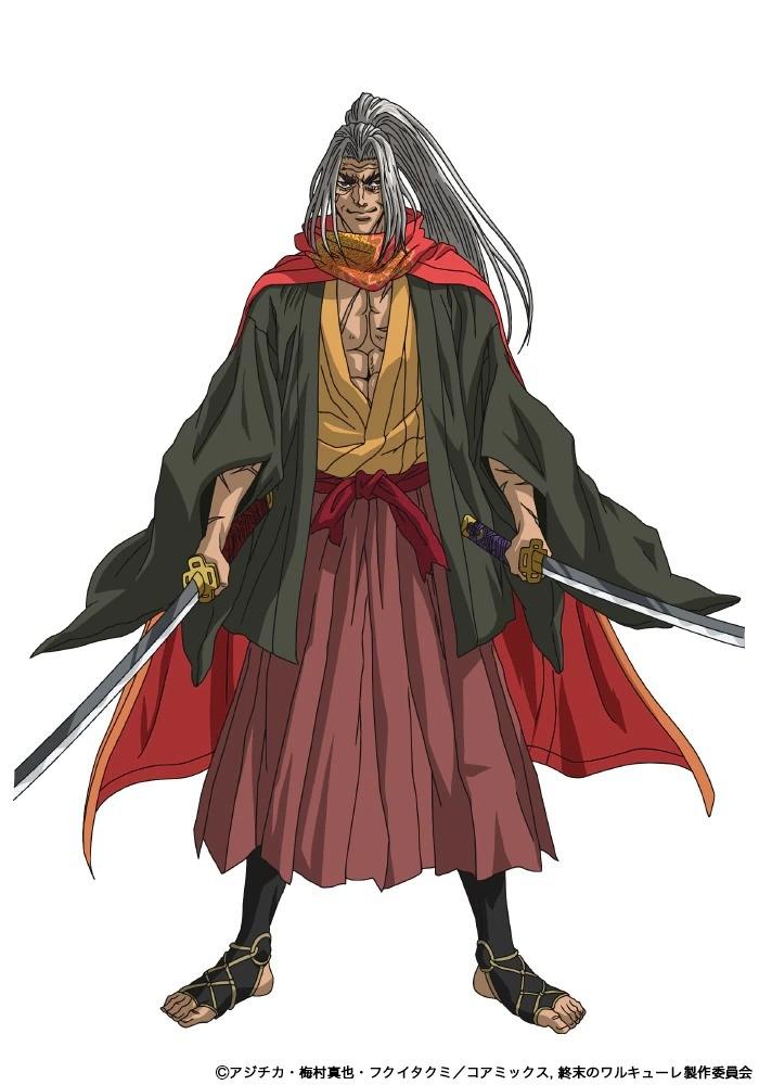 Kazuhiro Yamaji como Kojiro Sasaki. - Anime Shuumatsu no Valkyrie revela novo visual