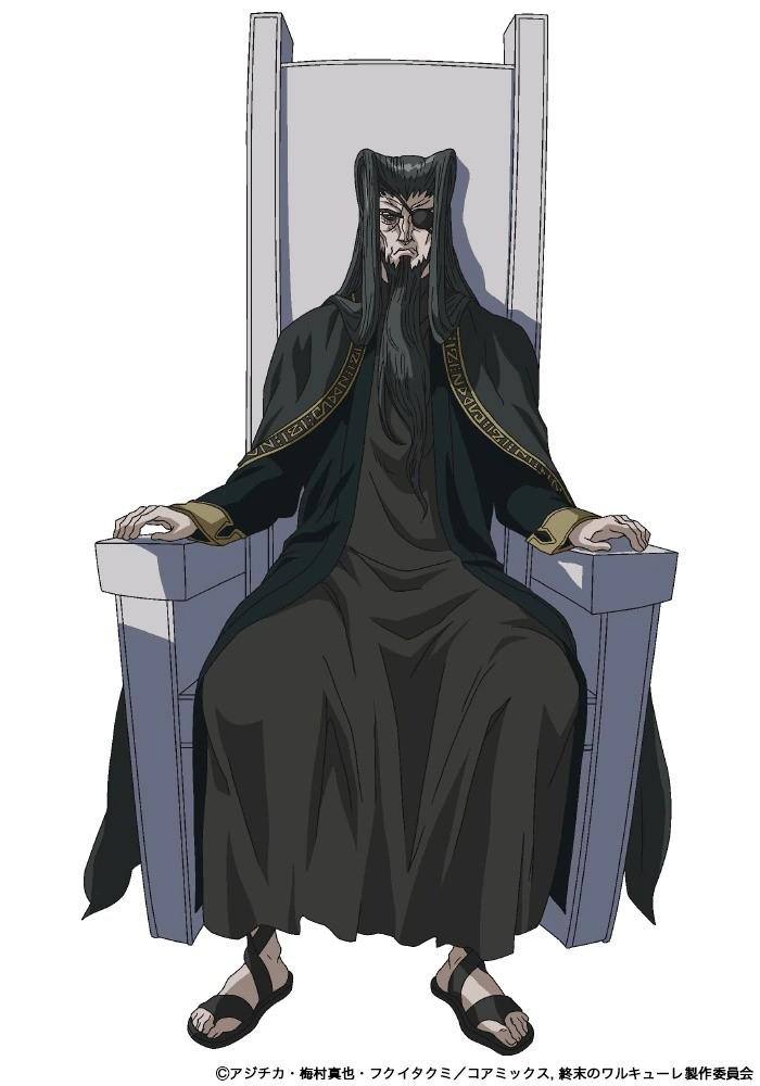 Sho Hayami como Odin. - Anime Shuumatsu no Valkyrie revela novo visual