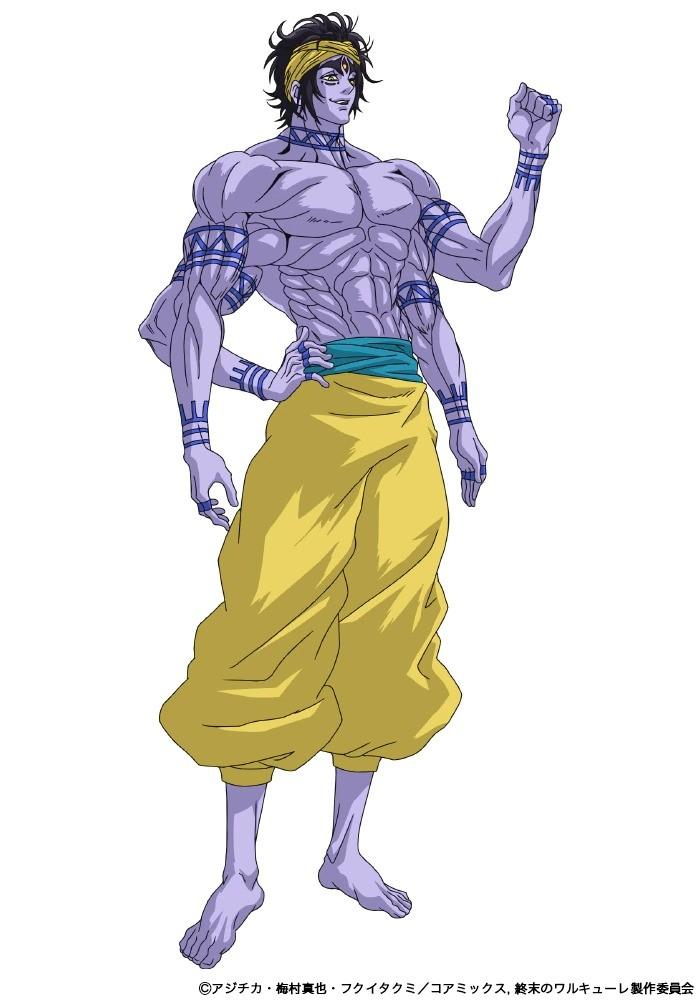 Tatsuhisa Suzuki como Shiva. - Anime Shuumatsu no Valkyrie revela novo visual