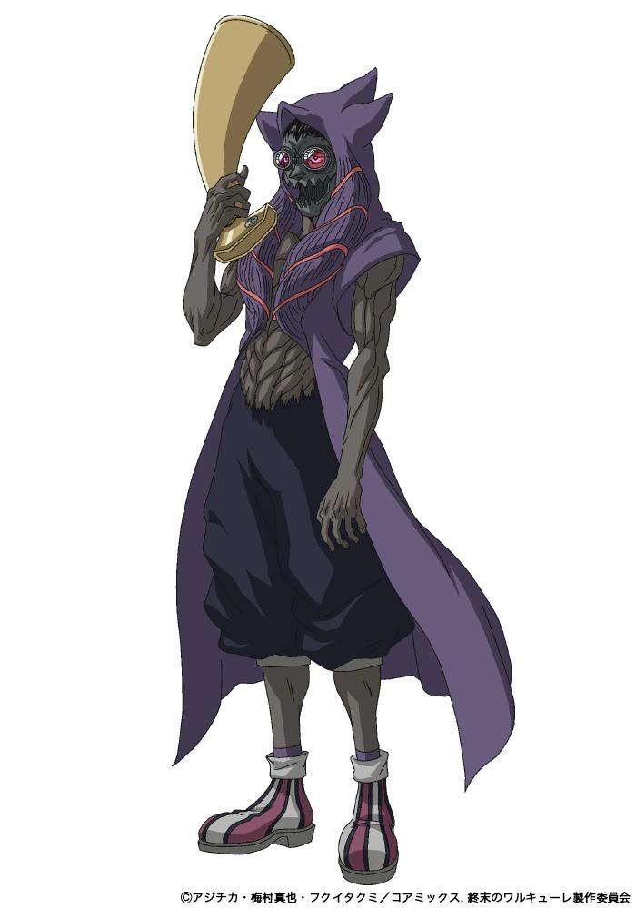 Yukihiro Nozuyama como Heimdall. - Anime Shuumatsu no Valkyrie revela novo visual
