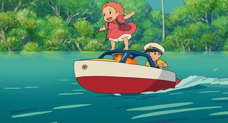 ff024ce397bee6cf74d642ee4c83d610 film d ponyo sur la falaise - Guia dos Filmes da Ghibli