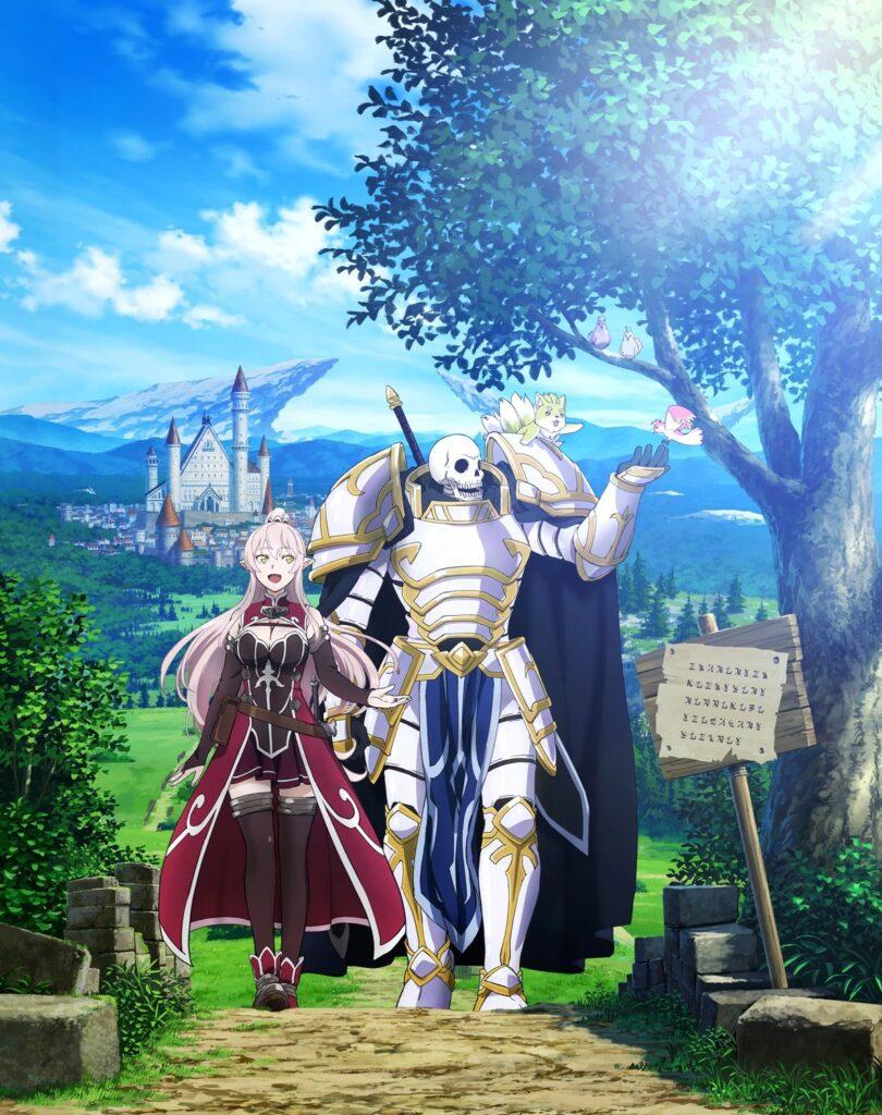 portada gaikotsu kishi sama 3 810x1024 - Gaikotsu Kishi-sama, Tadaima Isekai e Odekakechuu serão adaptados para anime