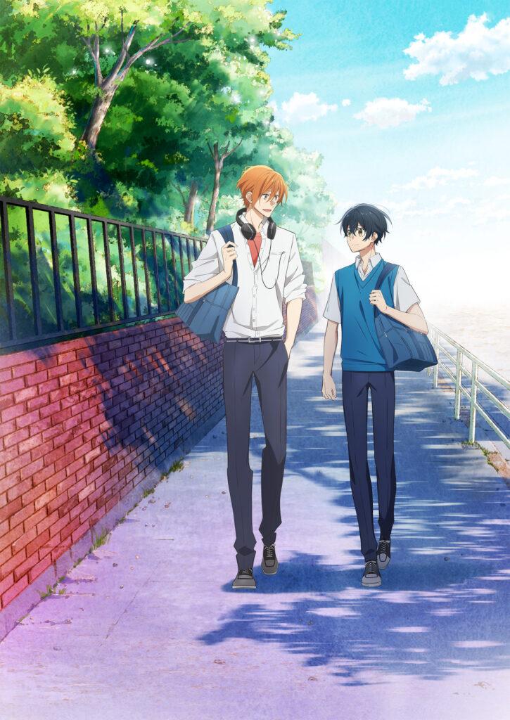 00000002 725x1024 - Anime BL Sasaki to Miyano anuncia membros do elenco e data de estreia
