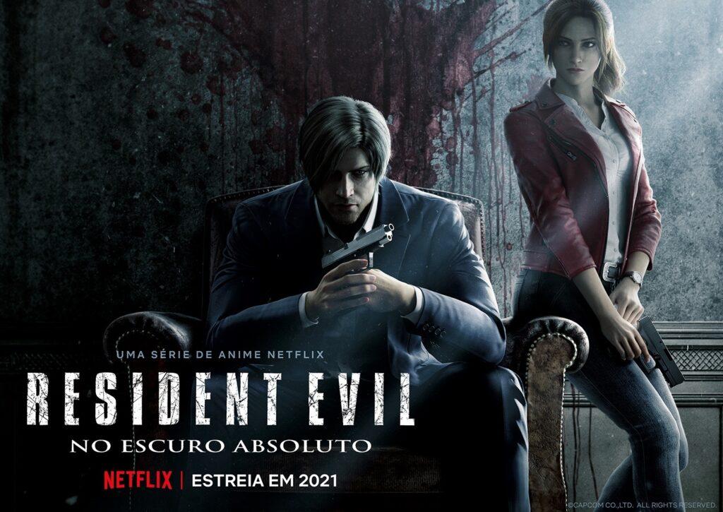 Resident Evil No Escurto Absoluto 1 1024x725 - Netflix revela novo trailer de Resident Evil: Infinite Darkness com elenco de voz japonês
