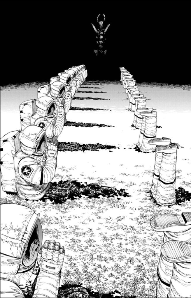 enredo astronauta 655x1024 - OB Analisa: Chainsaw Man | Mangá