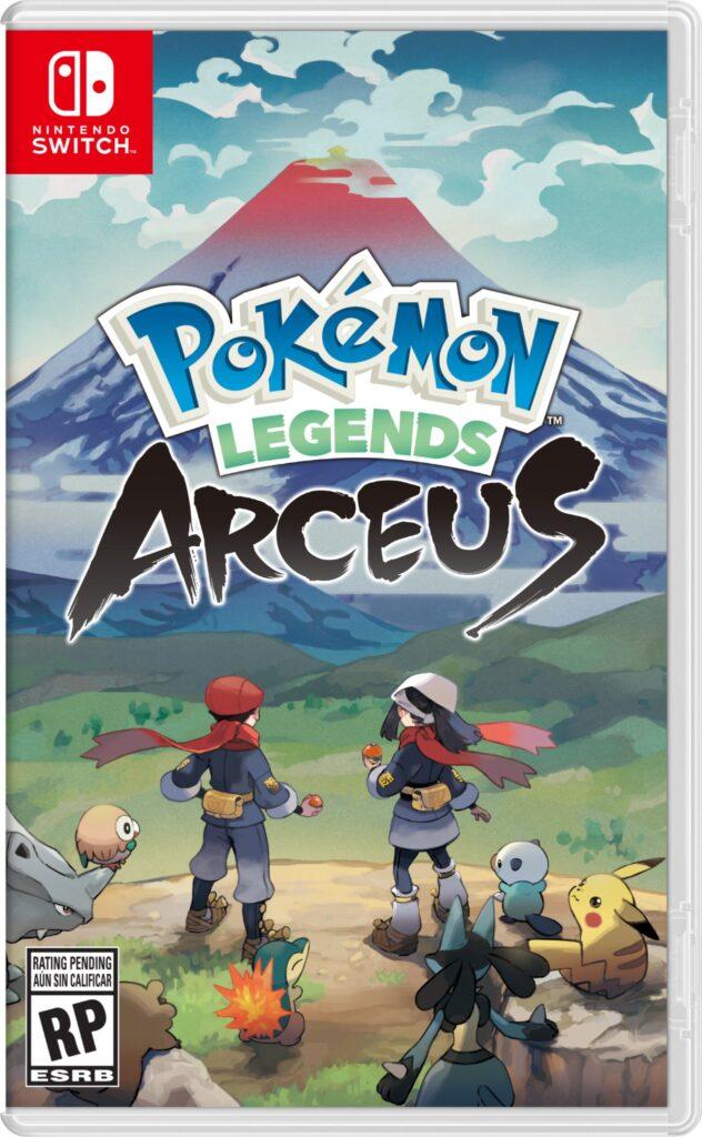 PokemonLegendsArceusBoxArt 632x1024 - Novo trailer de Pokémon Legends: Arceus é divulgado